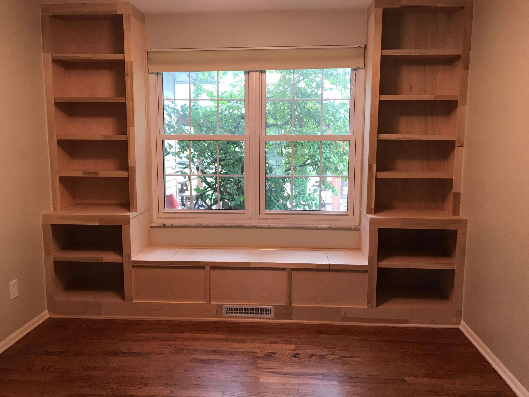 Bookcase and Seating Worthington, Ohio