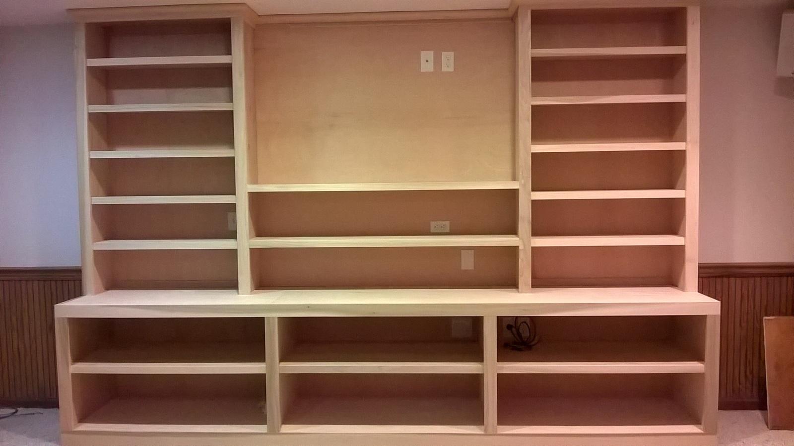 custom carpenter in columbus ohio built bookshelves and bookcases - Custom Built In Bookshelves