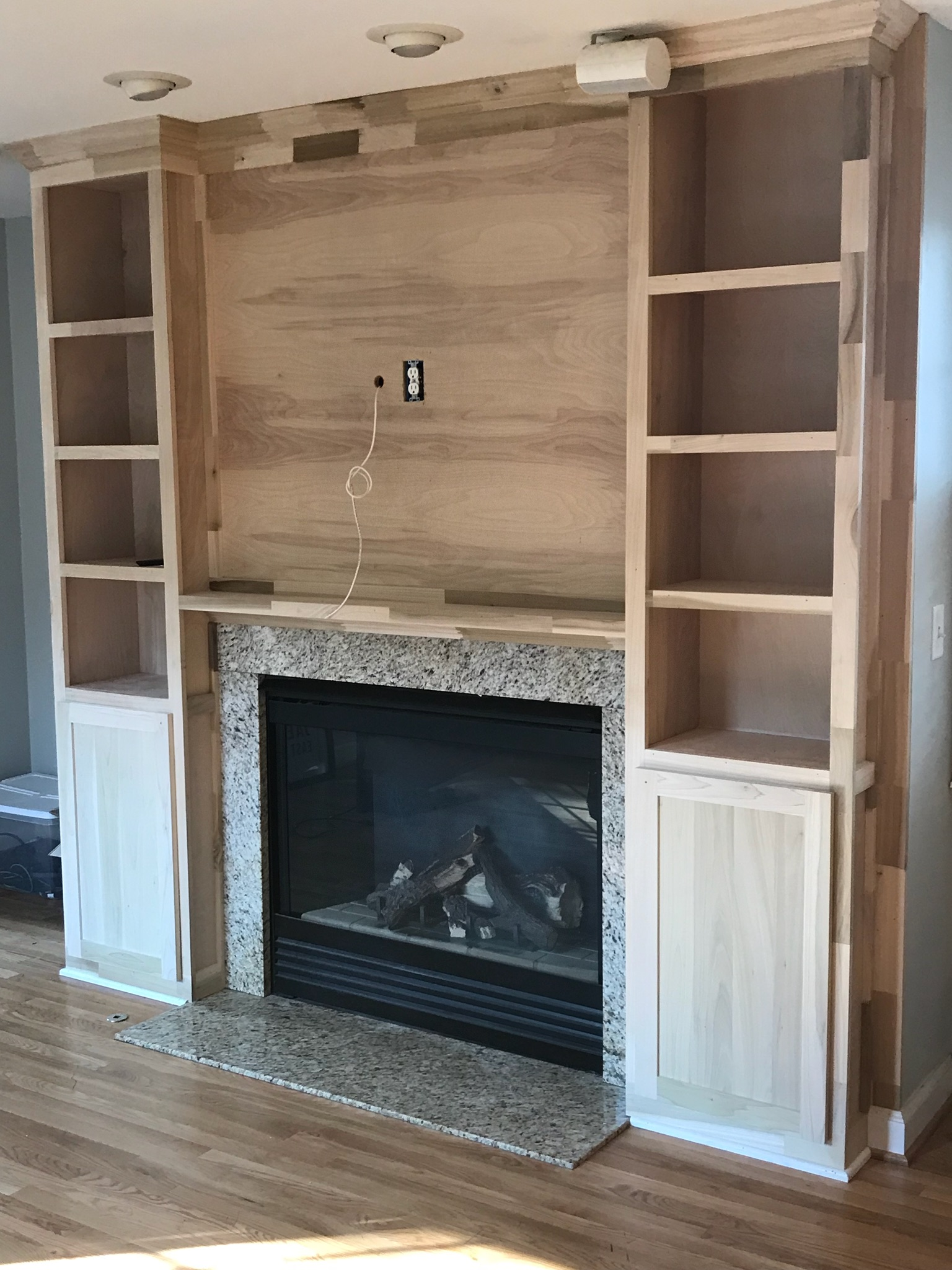 Custom Carpenter In Columbus Ohio Built In Bookshelves And Bookcases