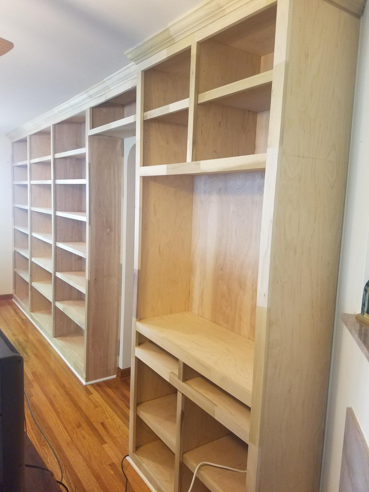Bookcase and Entertainment Center Upper Arlington