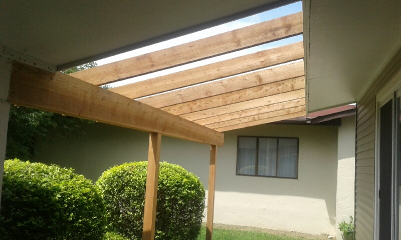 New Cedar Rafters Columbus Home Improvement