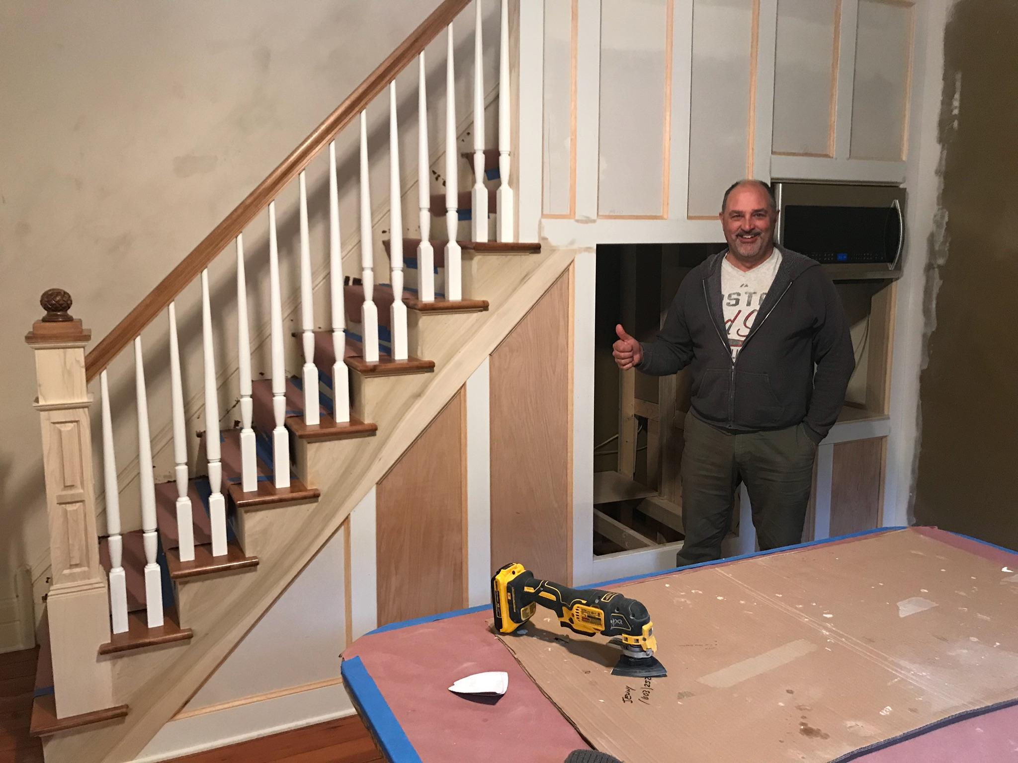 New Stairs for a home in German Village Ohio