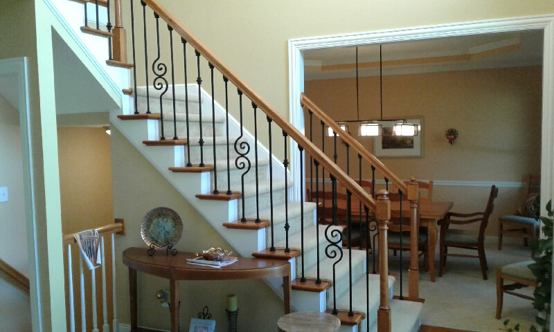 Westerville Ohio handrail by Dave