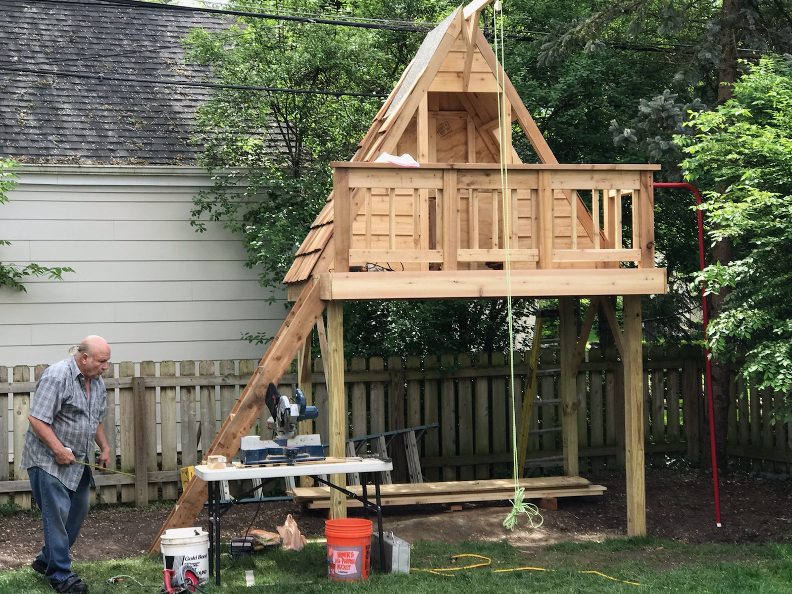 Custom Treehouse in Upper Arlington