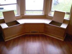 Hilliard Carpenter window seat