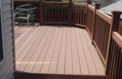 Custom deck in Columbus