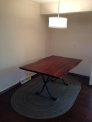 Dave's Carpentry Dining Room Seating Before