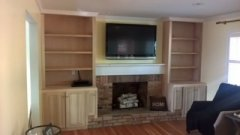 Upper Arlington Carpenter Bookcases