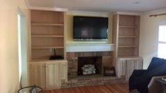 Upper Arlington Carpenter Bookcases