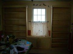 Dave's Carpentry Custom Bookcases