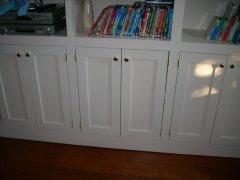 Dave's Carpentry custom bookshelves