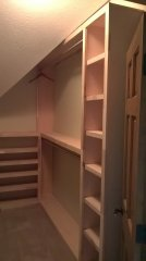 Custom Walk-in Closet in Dublin Ohio