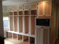 Columbus Carpentry Locker Storage