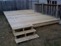 Columbus Carpenter Finished Deck