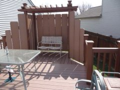 Dave's Carpentry Custom built deck