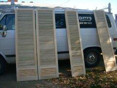 Dave's Carpentry Custom Built Doors