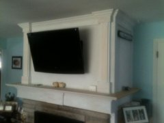 Dave's Carpentry Mantle