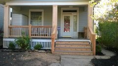 New Porch on Olentangy Ave in Columbus Ohio