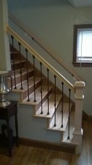 Custom Stairs for a Clintonville Ohio Home