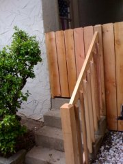 Custom Handrail by The Columbus Carpenter