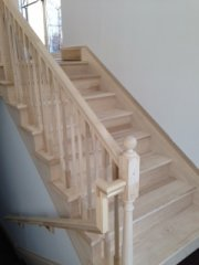 Columbus Carpentry Oak Grove Church Stairs