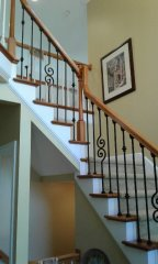 Westerville Handrail Daves Carpentry-1
